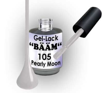 Gel-Lack BÄÄM No.105 Pearly Moon