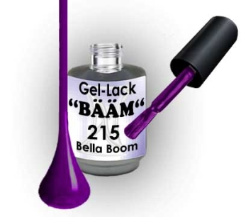 Gel-Lack BÄÄM No.215 Bella Boom