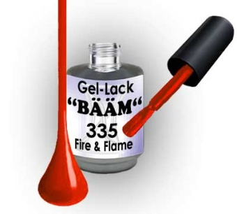 Gel-Lack BÄÄM No.335 Fire and Flame